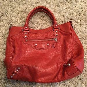 Balenciaga Classic Gold City Shoulder Bag